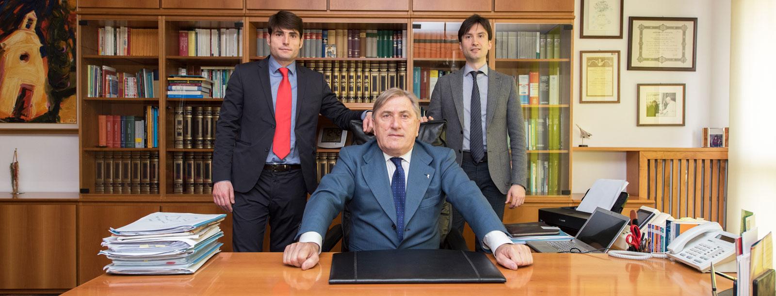 I professionisti associati dello studio Cisilino e partners