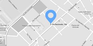 Mappa della sede di Roma di Cisilino e Partners